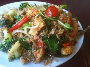 Fried rice yummy yummy