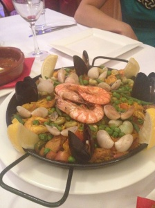 The hero...paella
