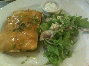I love spanokopita (even though I always forget how to spell it).